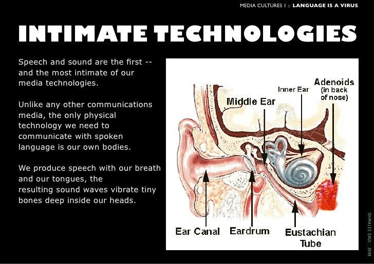 Language is a Virus: technologies of Speech Slide 2