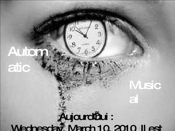Attention nouveau virus ! Aujourd'hui :  Wednesday, March 10, 2010   Il est  17:42:51 Automatic Musical