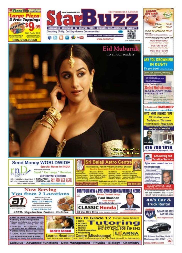 "Eid Mubarak                  To all our readers                    ""Vidya Balan"" in                    The Dirty PictureBa..."
