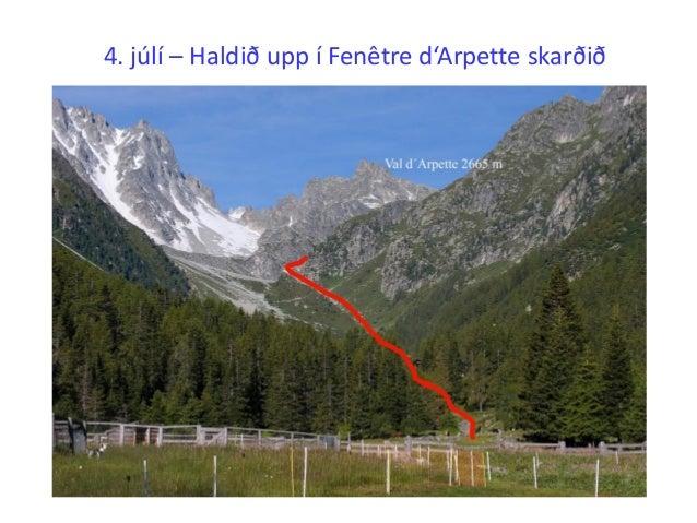 G ngufer b ndafer a umhverfis mont blanc 28 j n 5 for Fenetre d arpette