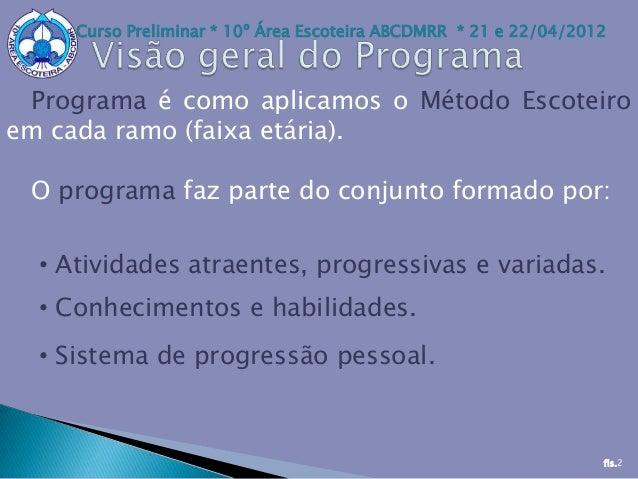 visao geral programa de jovens Slide 2