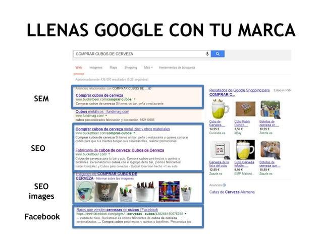 LLENAS GOOGLE CON TU MARCA  SEM  SEO  SEO images Facebook