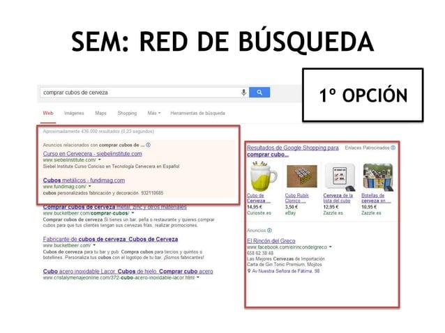 SEM: RED DE BÚSQUEDA 1º OPCIÓN