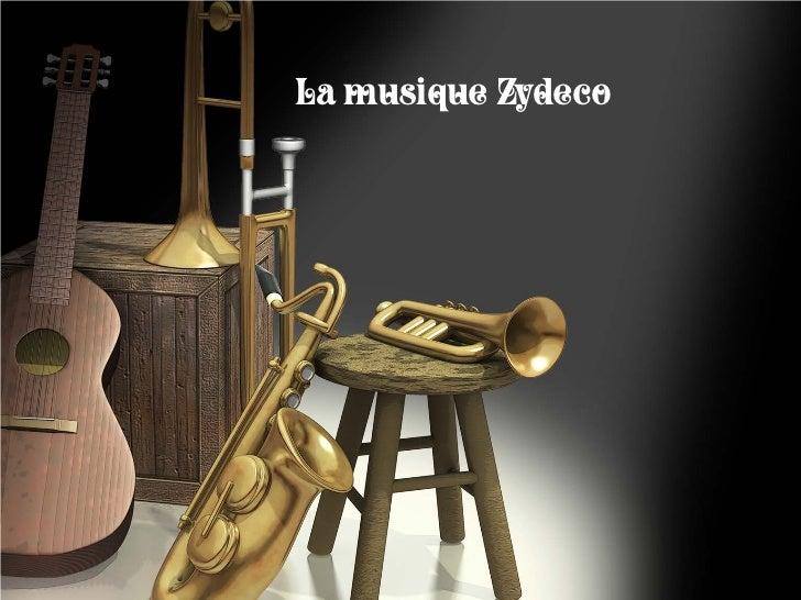 La musique Zydeco
