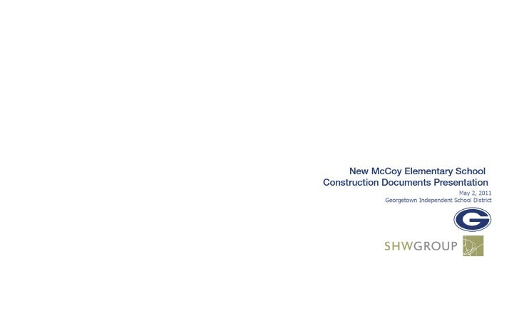 Pricing History for Conceptual PhasesNew McCoy Elementary                          Schematic        50% DD        95% CD  ...