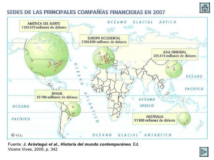 Fuente:  J. Aróstegui  et al. ,  Historia del mundo contemporáneo . Ed. Vicens Vives, 2008, p. 342