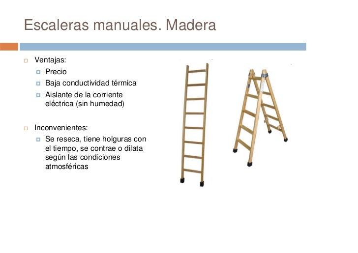 Prevenci n de riesgos laborales seguridad en escaleras for Escaleras portatiles certificadas