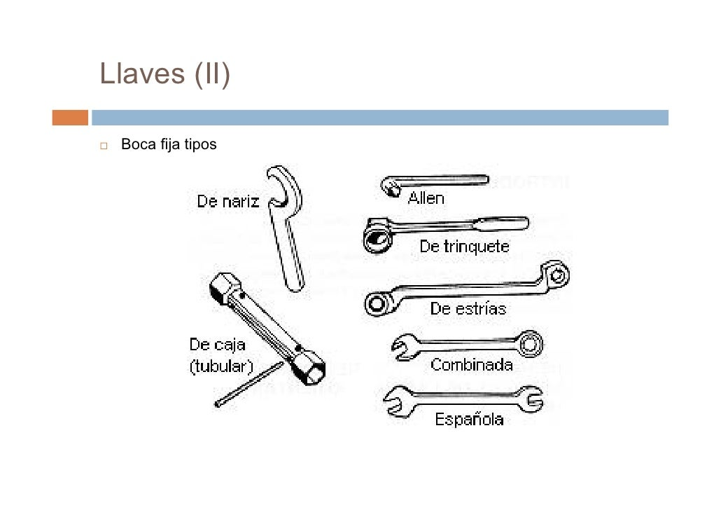 Prevenci n de riesgos laborales utilizaci n de for Tipos de llaves para duchas