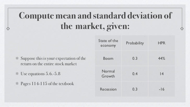 Risk and return problem chapter 5 compute mean and standard deviation ccuart Image collections