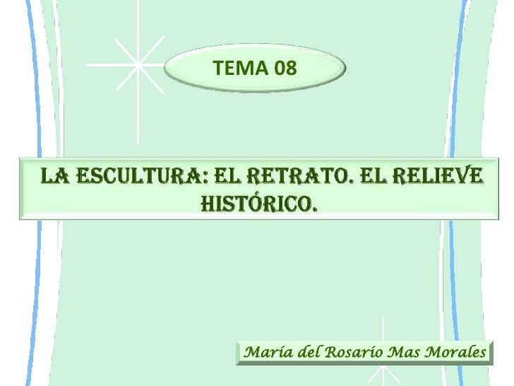 TEMA 08  María del Rosario Mas Morales