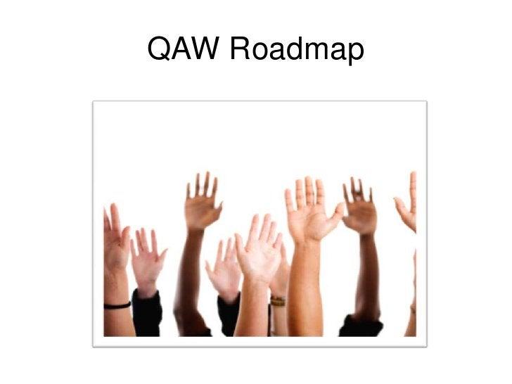 QAW Roadmap<br />