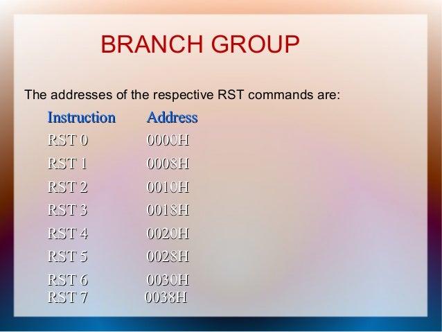 instruction register in 8085