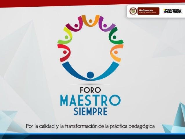 Sistema ColombianoSistema Colombiano de formaciónde formación