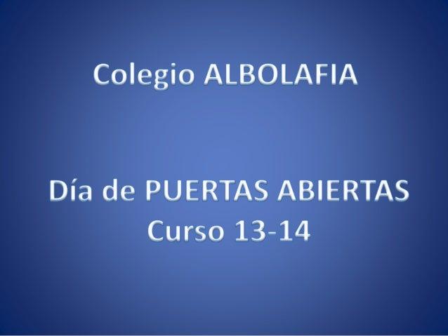PUERTAS ABIERTAS 1314