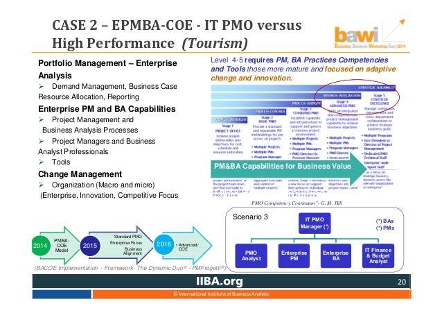 pmo business case