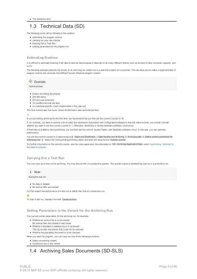The residence time 1.3 Technical Data (SD) The following points will be followed in this section estimating the program ru...