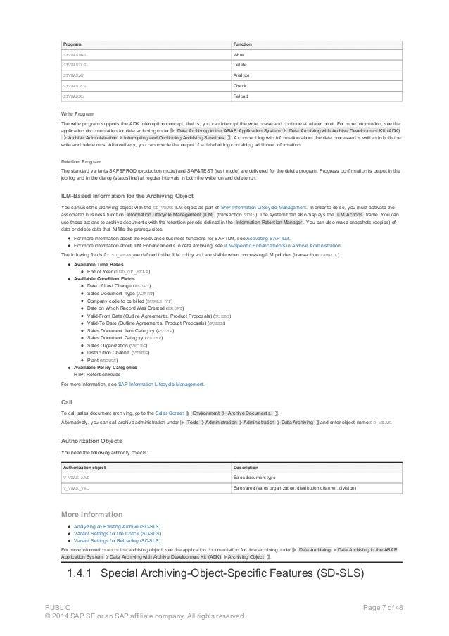 Program Function S3VBAKWRS Write S3VBAKDLS Delete S3VBAKAU Analyze S3VBAKPTS Check S3VBAKRL Reload Write Program The write...