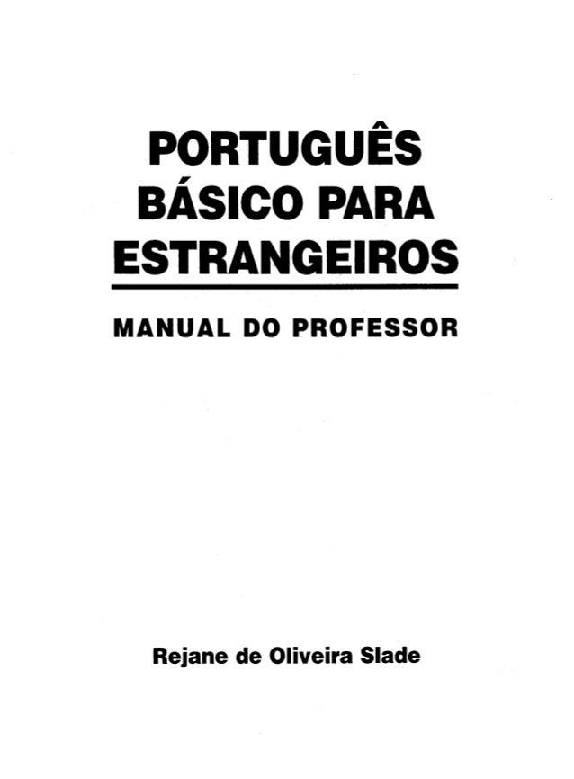 05.portugues basico para estrangeiros manual do professor