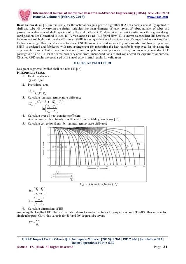 Design and Development of Parallel - Counter Flow Heat Exchanger