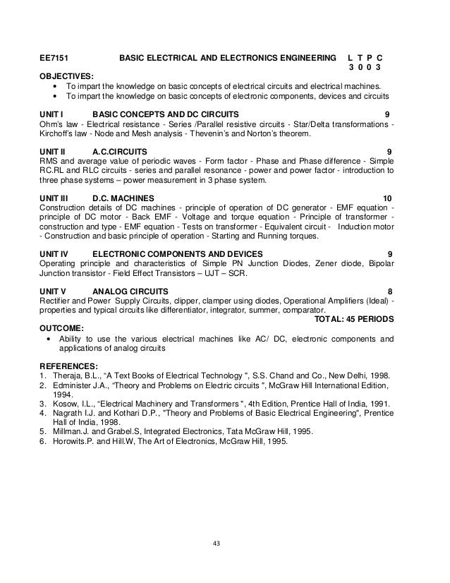 BE Aerospace Syllabus of MIT, Anna University R2015