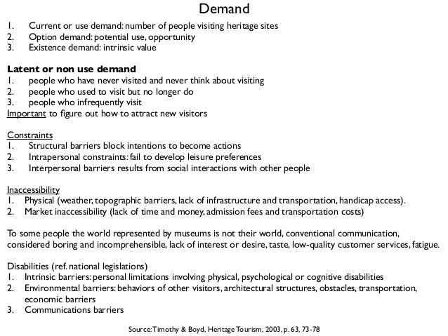 Heritage Management - 05. target groups and Le jardin sonore Slide 2