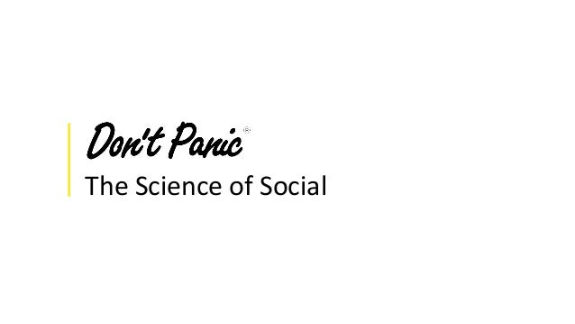 The Science of Social