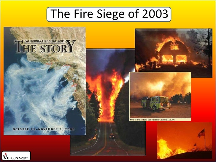 The Fire Siege of 2003<br />