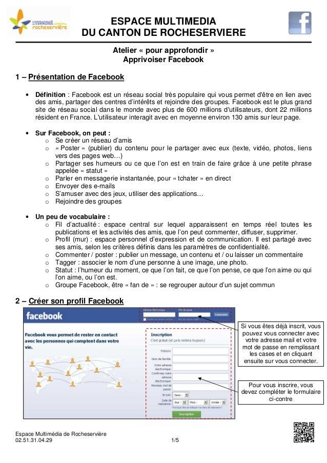 ESPACE MULTIMEDIA                        DU CANTON DE ROCHESERVIERE                                     Atelier « pour app...