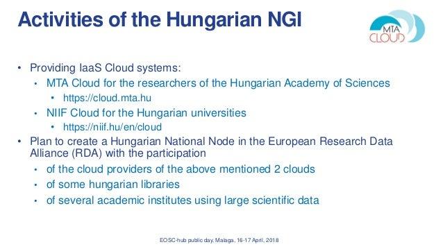 Updates from Hungary (Jozsef Kovacs) Slide 2