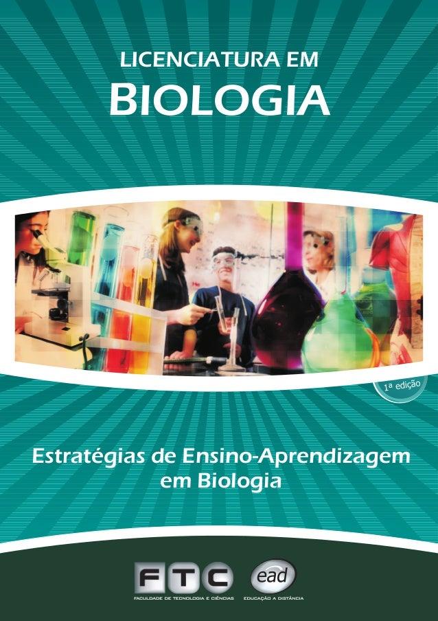 Estratégias de Ensino-Aprendizagemem Biologia