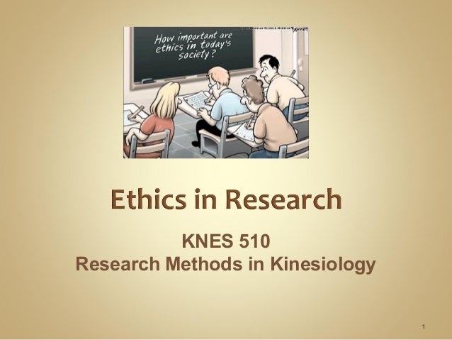ethics in research methodology pdf