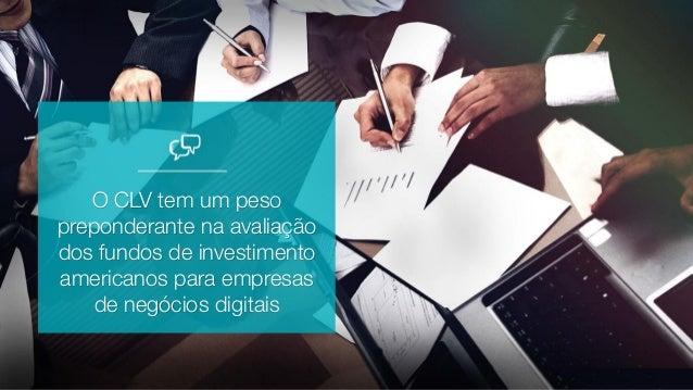 Auxiliar empresas de comércio eletrônico e negócios digitais a gerenciarem o investimento de marketing para otimizar o CLV...