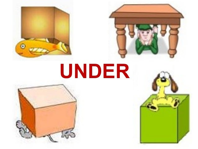 IN - ON - UNDER