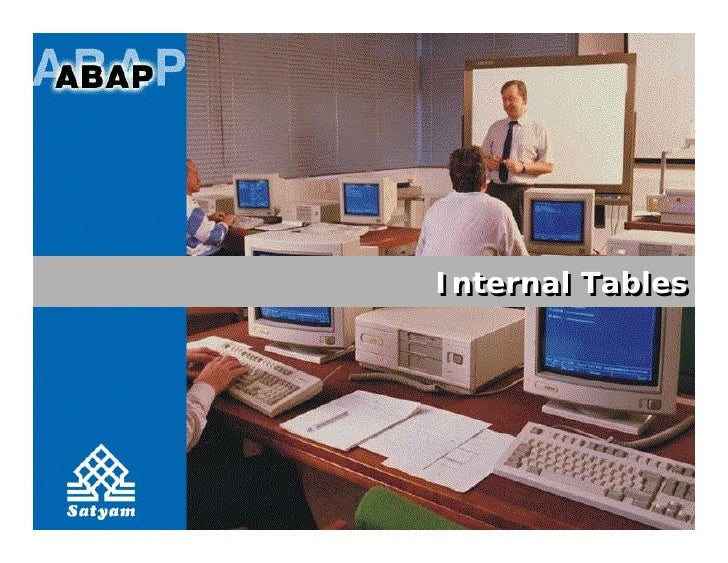 Internal Tables
