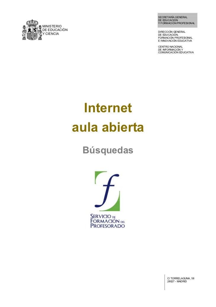 SECRETARÍA GENERAL                               DE EDUCACIÓN                               Y FORMACIÓN PROFESIONAL MINIST...