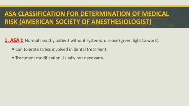 Management of patients with systemic disease Slide 2