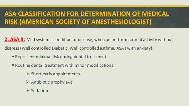 Management of patients with systemic disease Slide 3