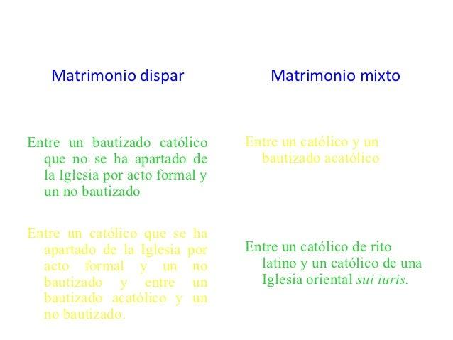 Matrimonio Catolico Por Disparidad De Culto : Matrimonio en diapositivas