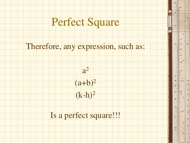 difference of two perfect squares