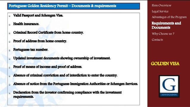 Valid Passport and Schengen Visa. Health insurance. Criminal Record Certificate from home country. Proof of address from h...