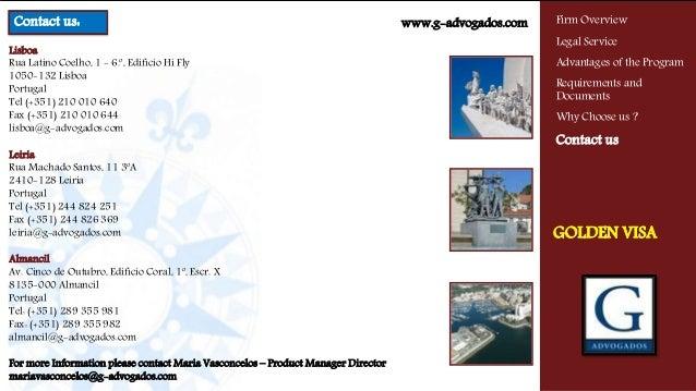 Lisboa Rua Latino Coelho, 1 - 6.º, Edifício Hi Fly 1050-132 Lisboa Portugal Tel (+351) 210 010 640 Fax (+351) 210 010 644 ...