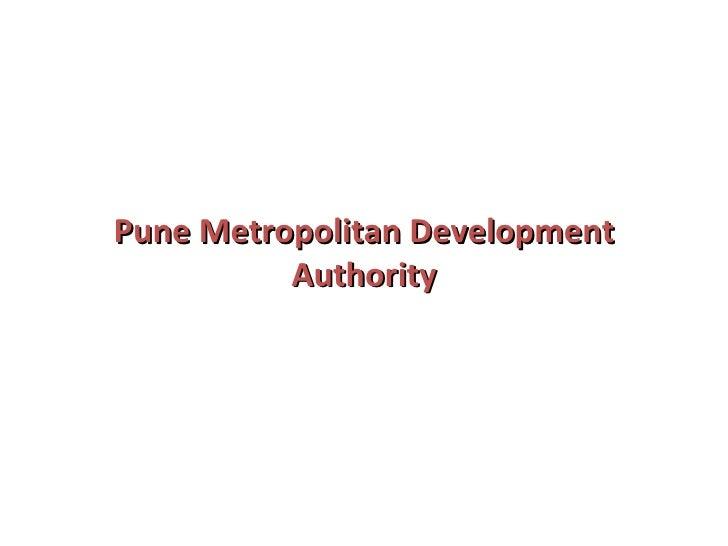 Pune Metropolitan Development Authority