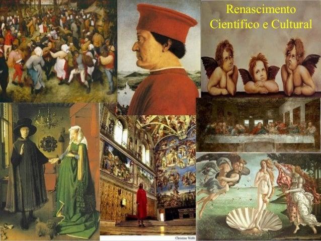 RenascimentoCientífico e Cultural