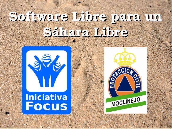 SoftwareLibreparaun      SáharaLibre