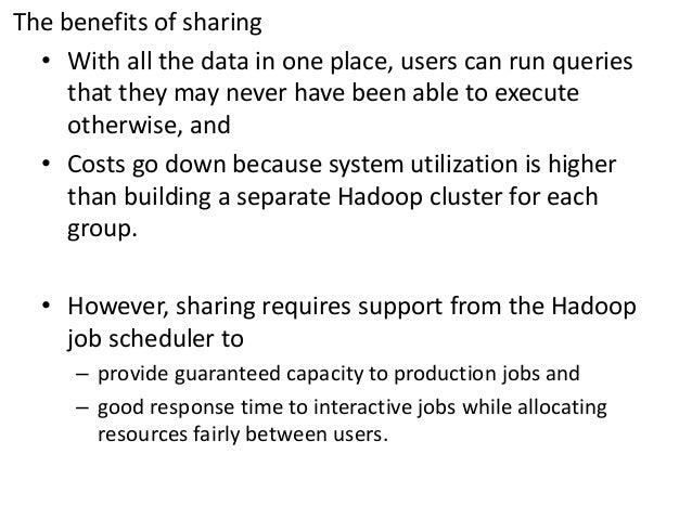 Hadoop scheduler Slide 3