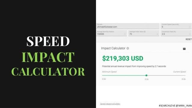 Speed impact calculator SPEED IMPACT CALCULATOR #SEARCHLOVE @MIRA_INAM