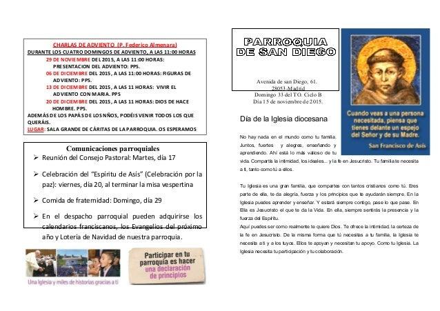 http://hotelsantoamaro.com/es/COMUNICACIONES Comunicaciones parroquiales  Reunión del Consejo Pastoral: Martes, día 17  ...