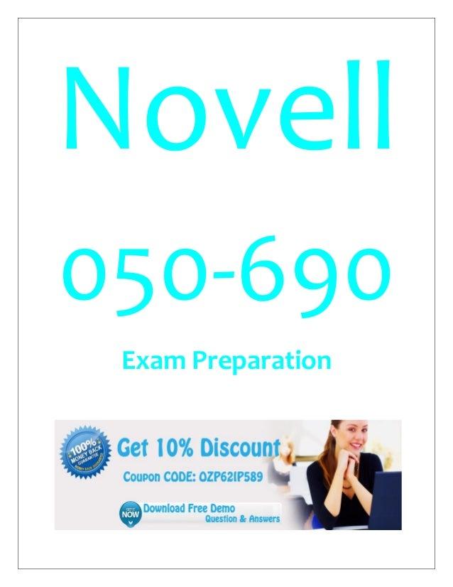 Novell 050-690 Exam Preparation