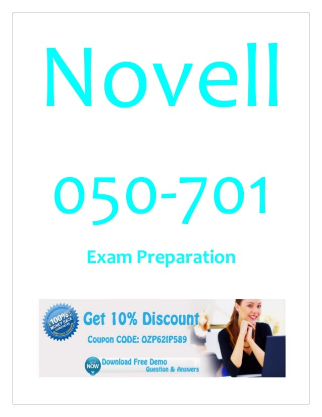 Novell 050-701 Exam Preparation