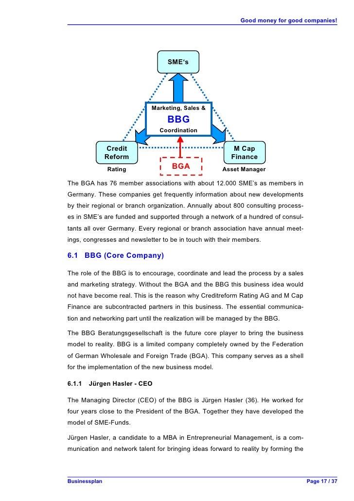 business plan mittelstand aenova